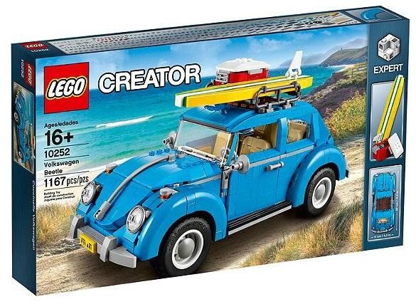 LEGO Expert Creator 10252 Volkswagen Beetle Box - Toysnbricks