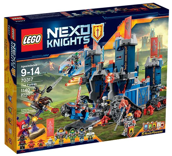 LEGO Nexo Knights 70317 The Fortrex - Toysnbricks