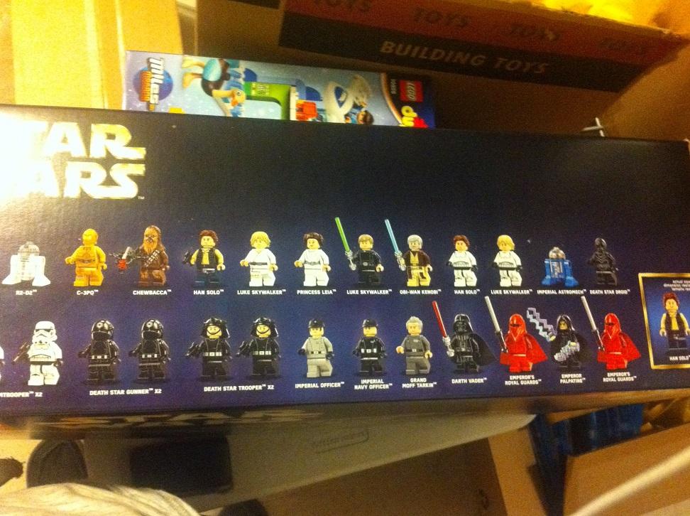 LEGO Star Wars 75159 Death Star 2016 Version Minifigures