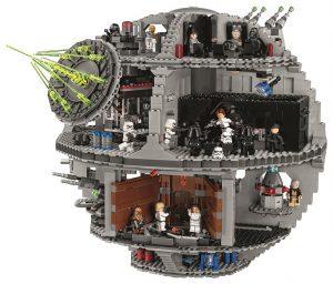 LEGO Star Wars 75159 Death Star Front 2016