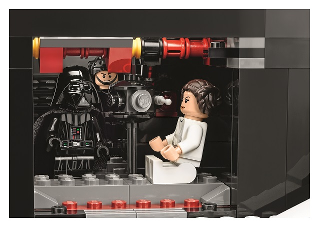 Death Star Control Room Set