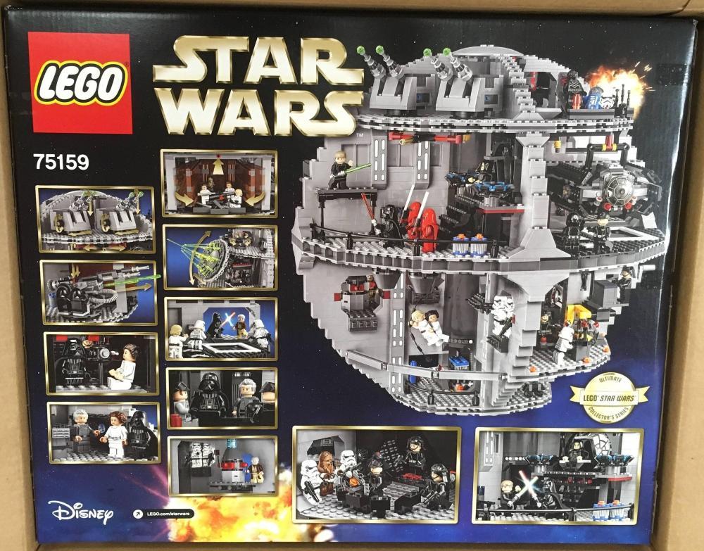 UCS LEGO Star Wars 75159 Death Star Back Box