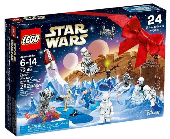 LEGO Star Wars 75146 Advent Calendar 2016 Version - Toysnbricks