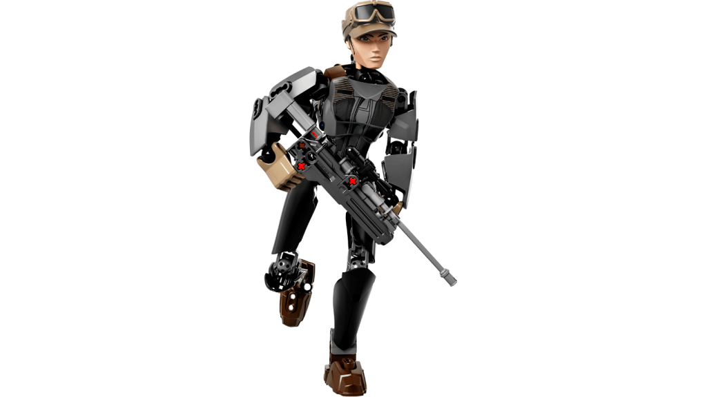 LEGO Star Wars Rogue One 75119 Sergeant Jyn Erso Buildable Figures
