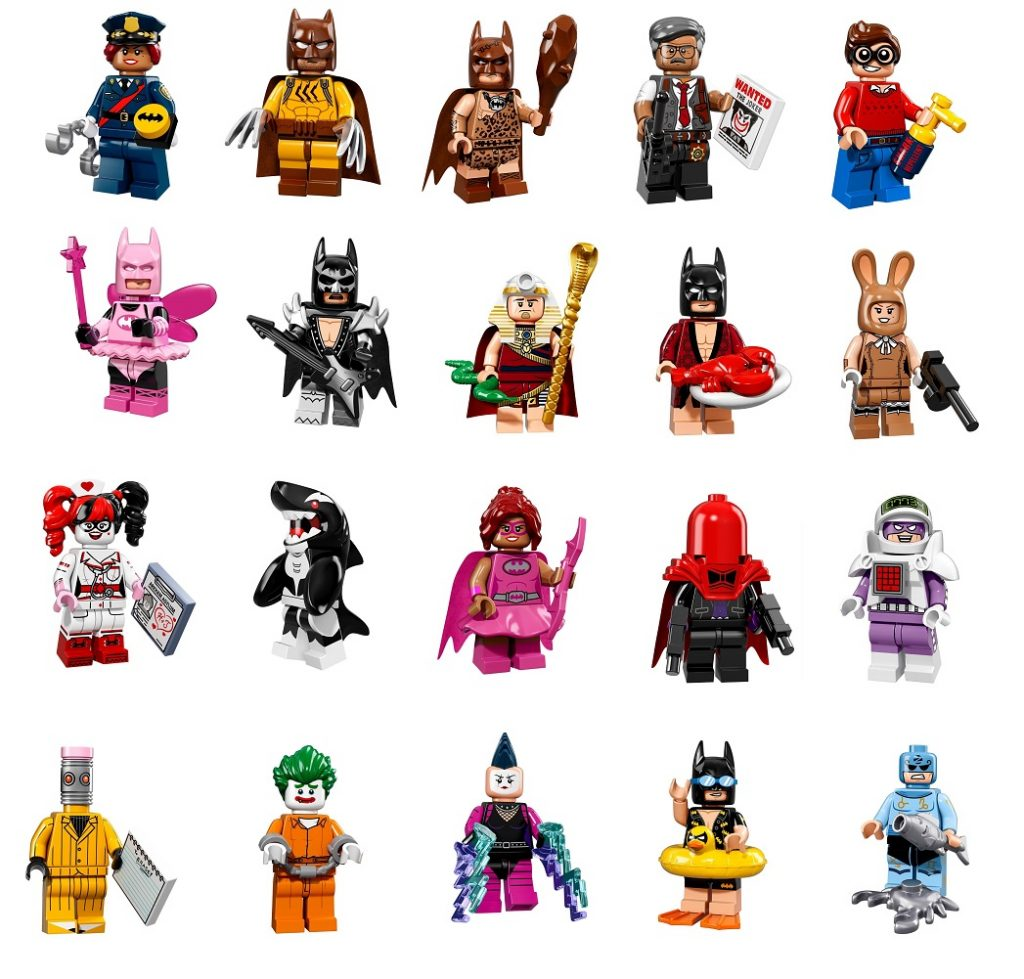 lego batman minifigures 2017 - photo #1