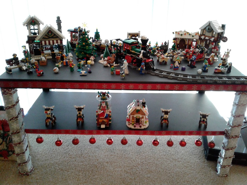 christmas lego display from tnb forum member mrvep - Christmas Forum
