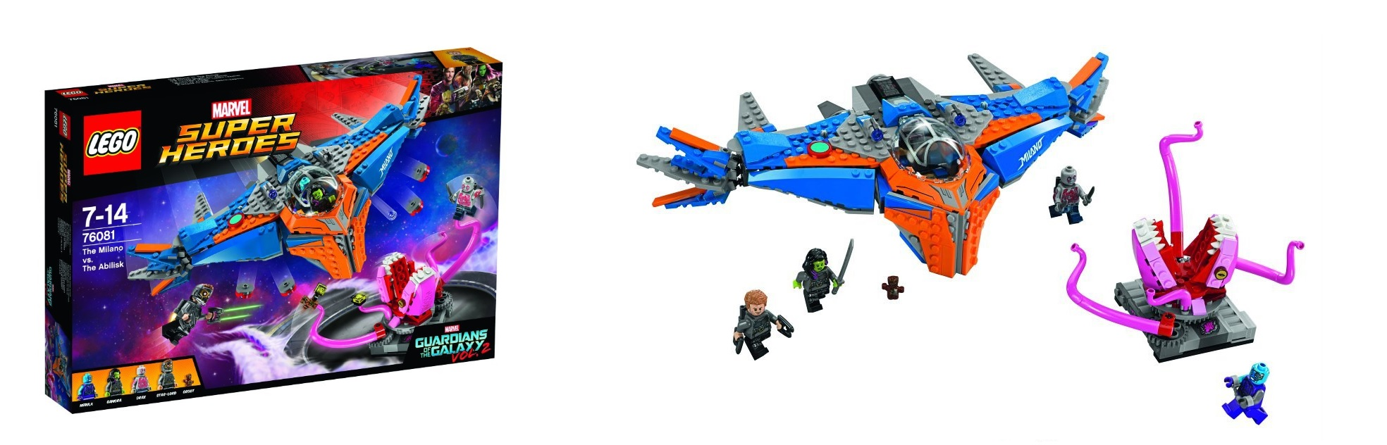 Guardians of the Galaxy Volume 2 LEGO Marvel Super Heroes