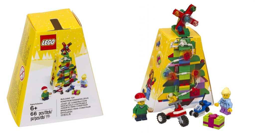 2017 lego 5004934 seasonal christmas ornament - Christmas Decoration Sets