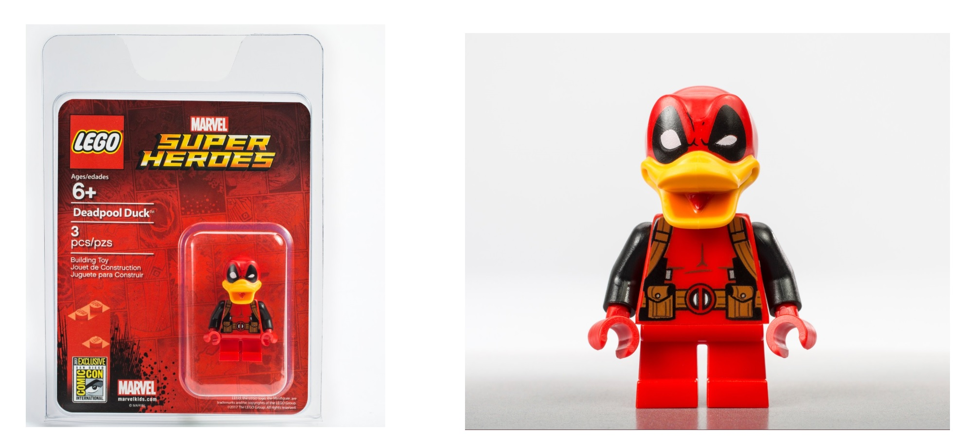 Lego Deadpool By Profmadness Lego Deadpool Minifigure