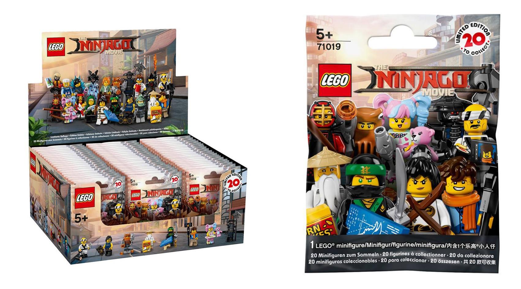 Lego Ninjago Movie Collectable Series Minifigures 71019 Toys N Bricks Lego News Blog
