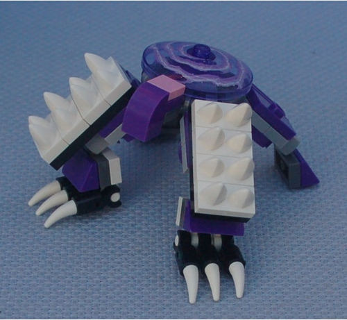 Mobile Frame Zero: Rapid Attack Stats: 2Rh+d8Rh (claws) 2B (spiked Shields)  1Gd8 (no Ranged Weapons) 2W.