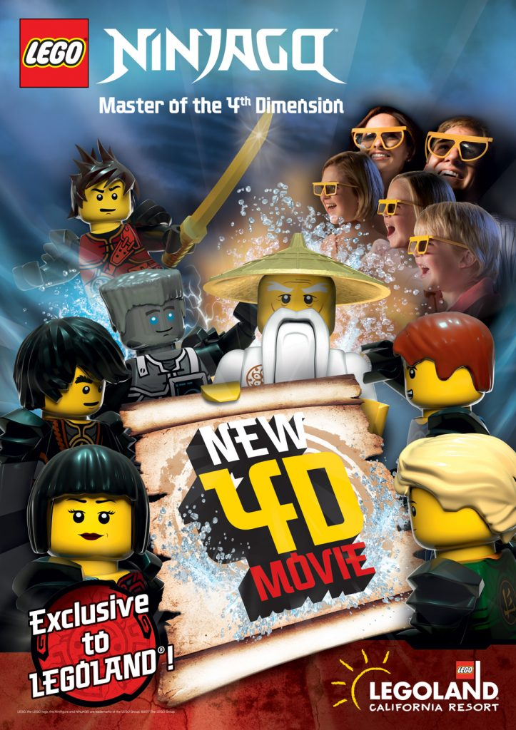 LEGOLAND Opens with New Exclusive 4D LEGO Ninjago Film