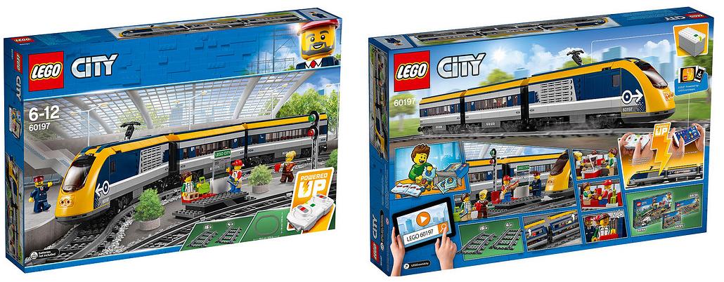 2018 lego city trains set images 60197 passenger train. Black Bedroom Furniture Sets. Home Design Ideas