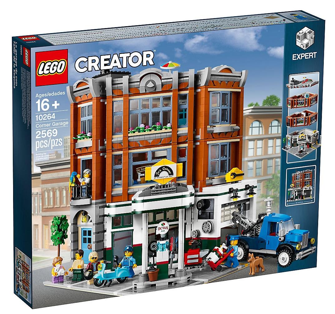 2019 lego modular building 10264 corner garage toys n. Black Bedroom Furniture Sets. Home Design Ideas