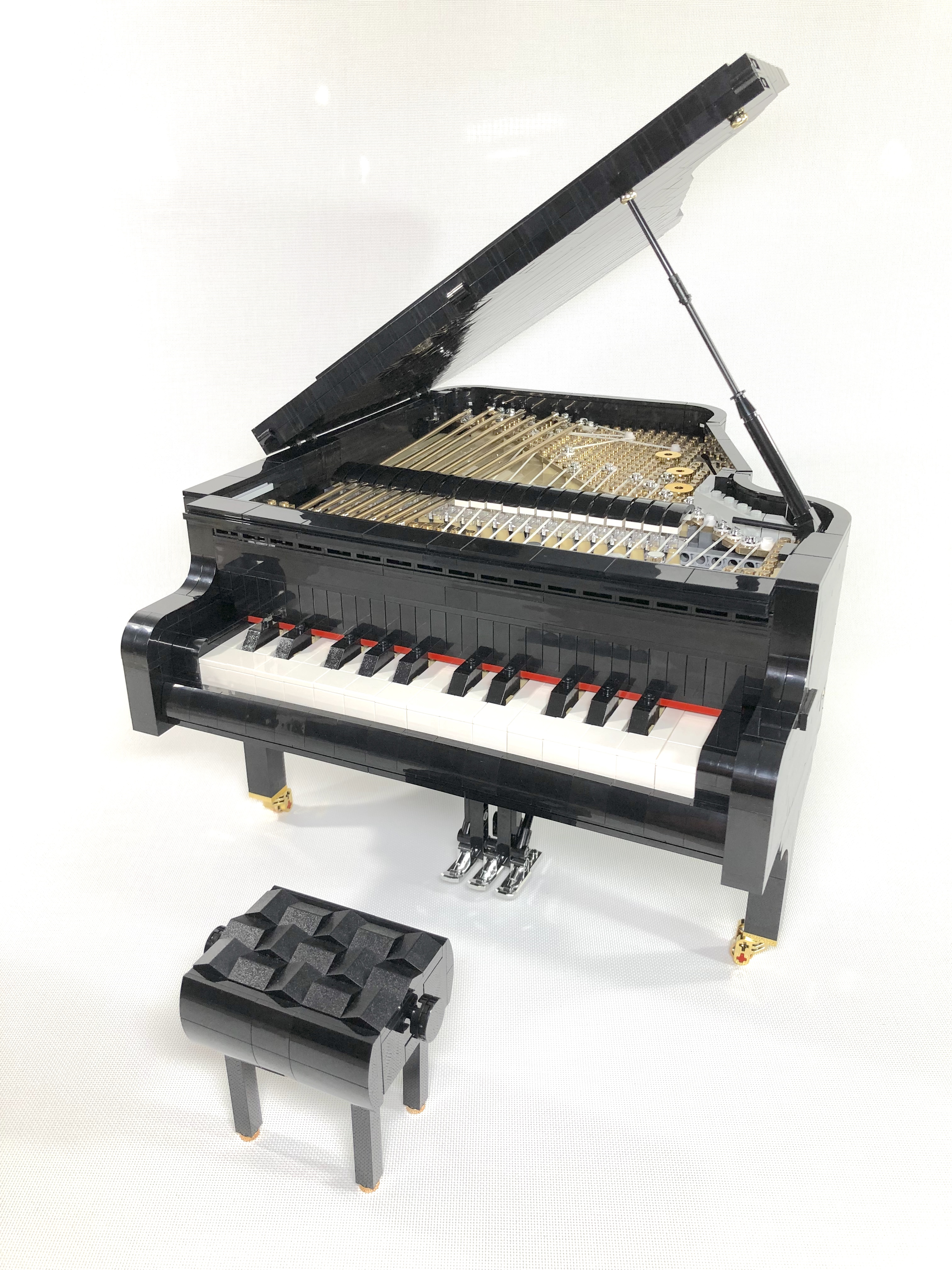 Playable Lego Piano Reaches 10 000 Supporters On Lego