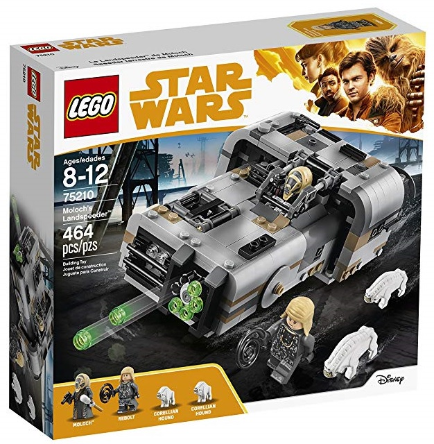 This image has an empty alt attribute; its file name is LEGO-Star-Wars-Solo-A-Star-Wars-Story-Moloch's-Landspeeder-75210.jpg