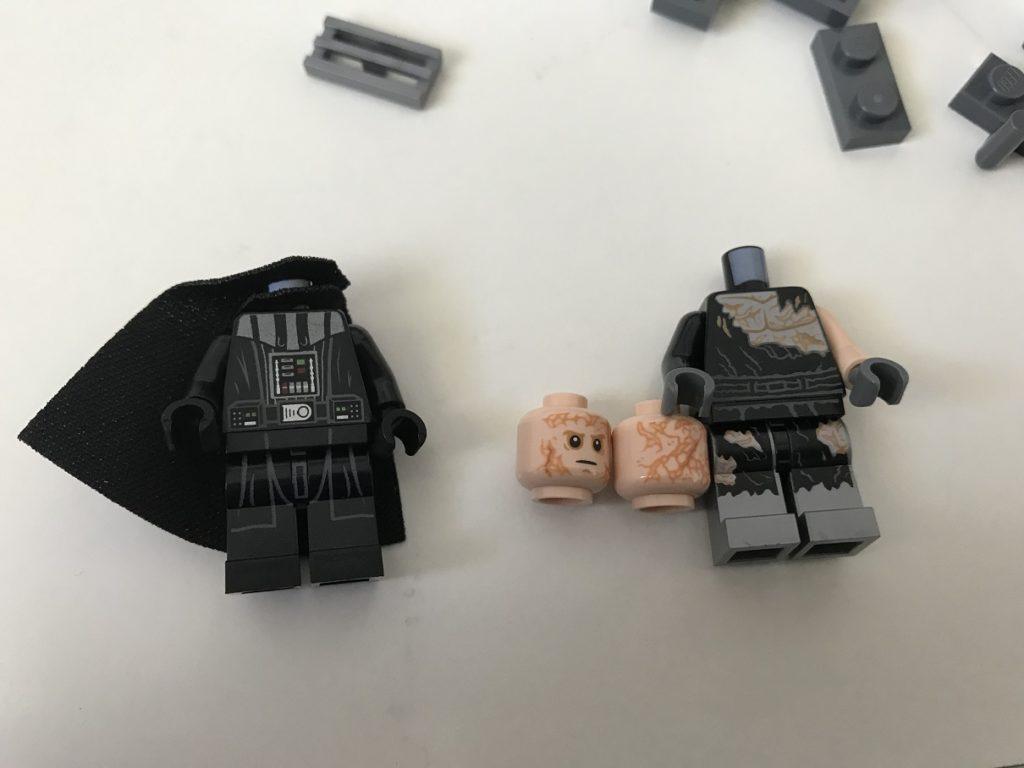 Set of 3 Episode 3 Lego Star Wars 75183 Sith Palpatine,Anakin,Vader Minifigure