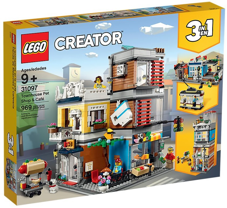 2019 August LEGO Creator Expert Sets Official Product Images
