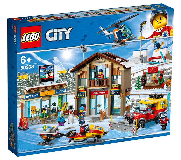 LEGO City 60203 Ski Resort Official Images - Toys N Bricks ...