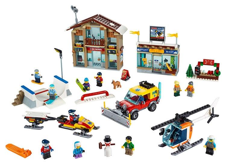 LEGO City 60203 Ski Resort Official Images – Toys N Bricks