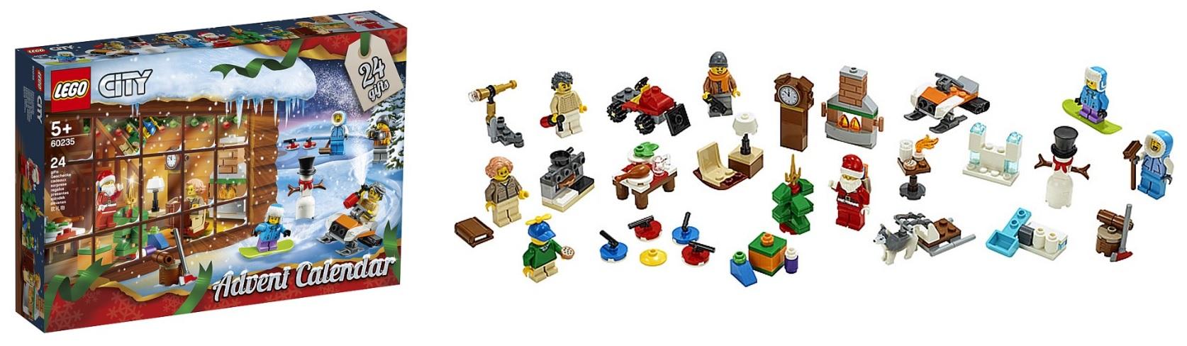 2019 lego advent calendars 7594 75245 41382 60235 toys n. Black Bedroom Furniture Sets. Home Design Ideas
