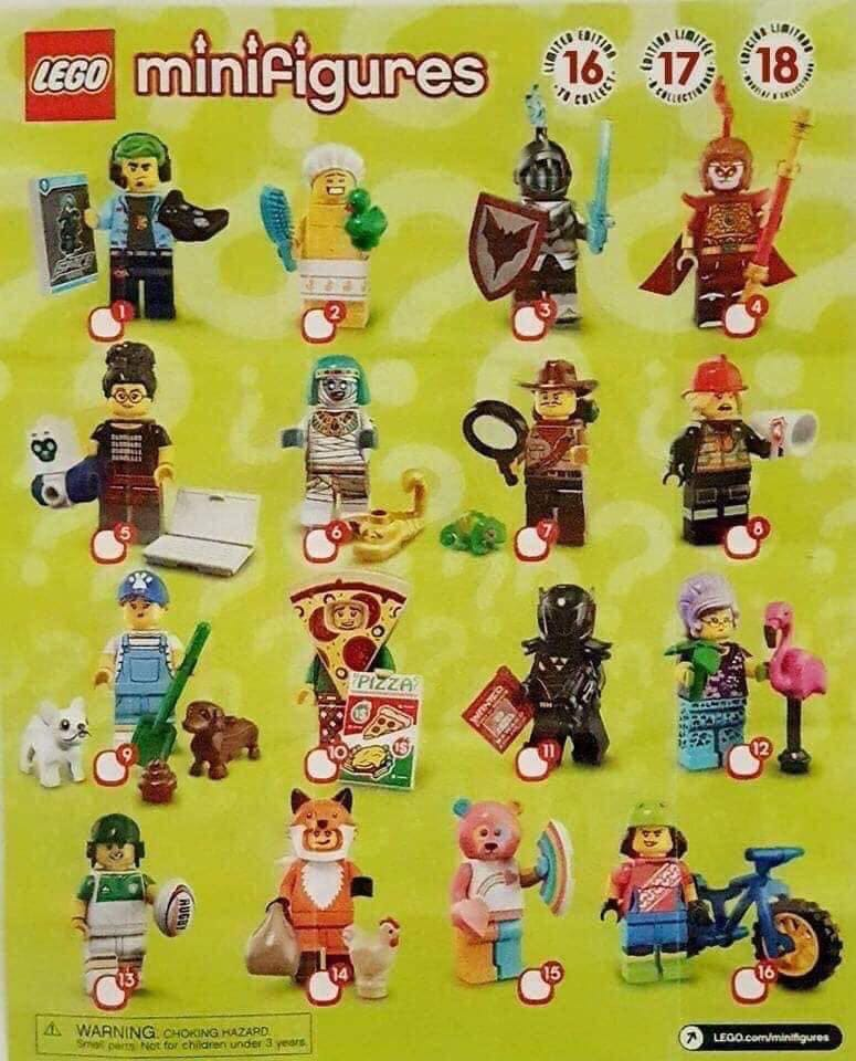 2019 LEGO Series 19 Collectable Minifigures Images – Toys ...