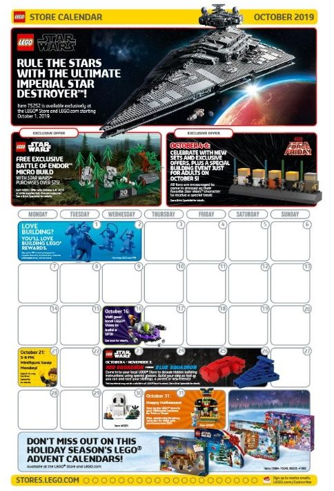 LEGO Force Friday Luke Skywalker Promo Timeline Micro Build Exclusive-NEW!