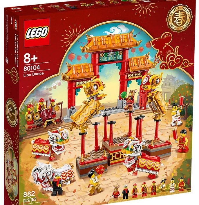 2020 Lego Chinese New Year Sets Temple Fair Lion Dance Now Available Toys N Bricks Lego News Blog