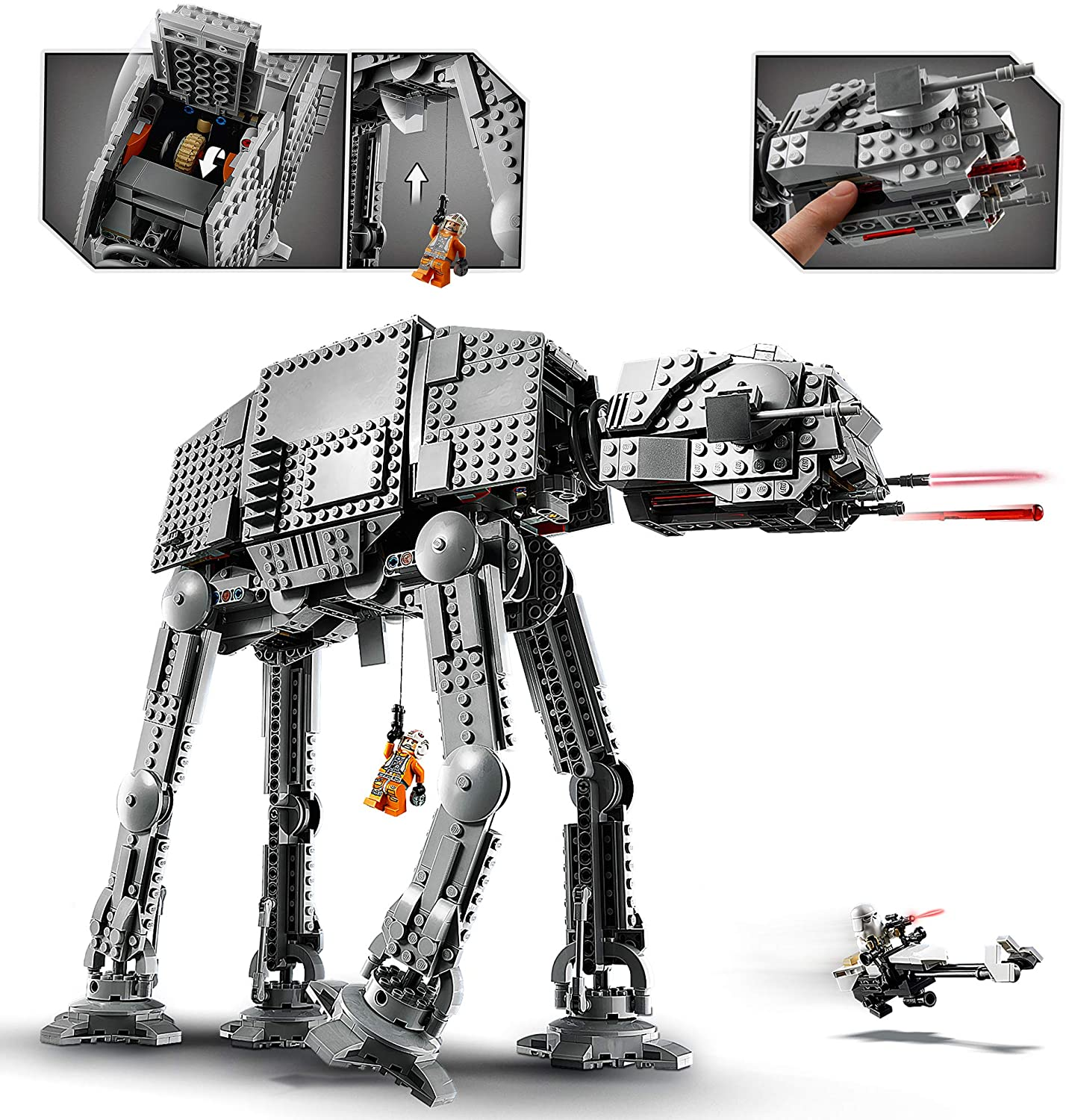 2020 lego star wars 75288 atat walker official pictures