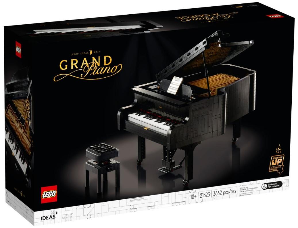LEGO IDEAS 21323 Grand Piano Shelf Life