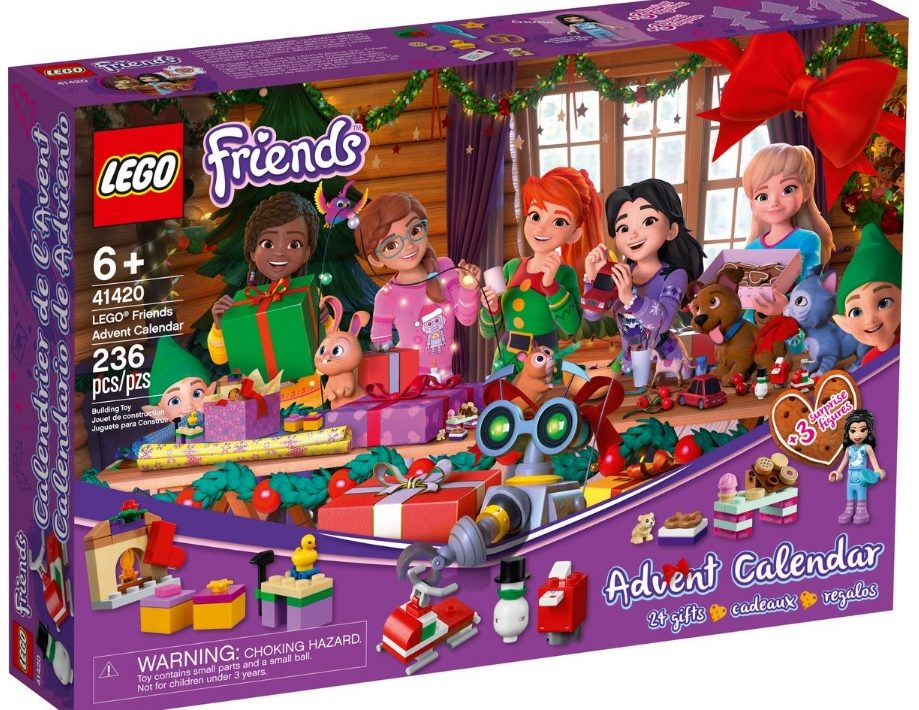 Lego Countdown To Christmas Lego Friends 2020 Set USA] 2020 LEGO Holiday Advent Calendars On Sale (25 33% off