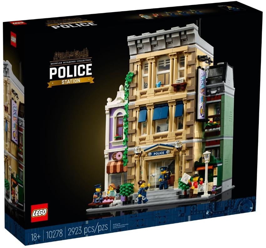 LEGO 10278 Modular Building Police Station Shelf Life